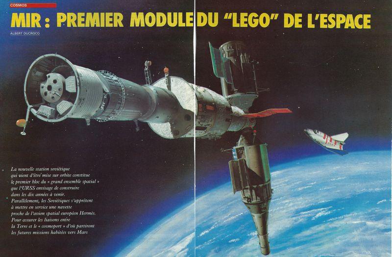 19 février 1986 - Station Spatiale MIR 86050010