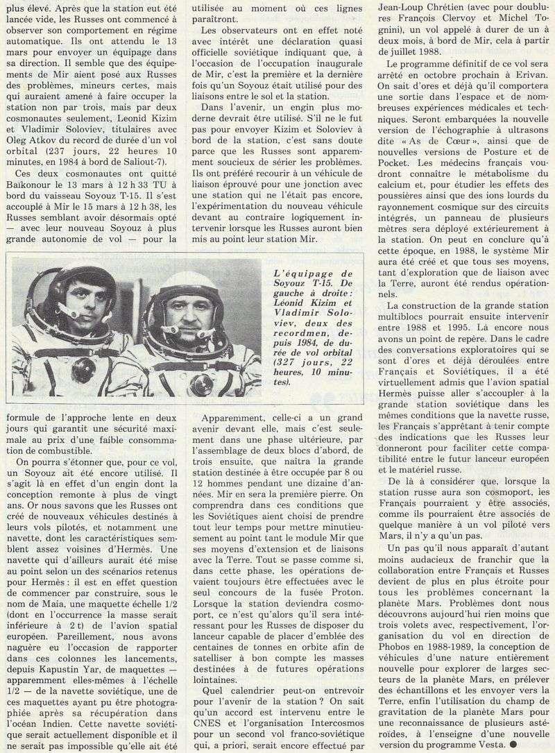 19 février 1986 - Station Spatiale MIR 86050013