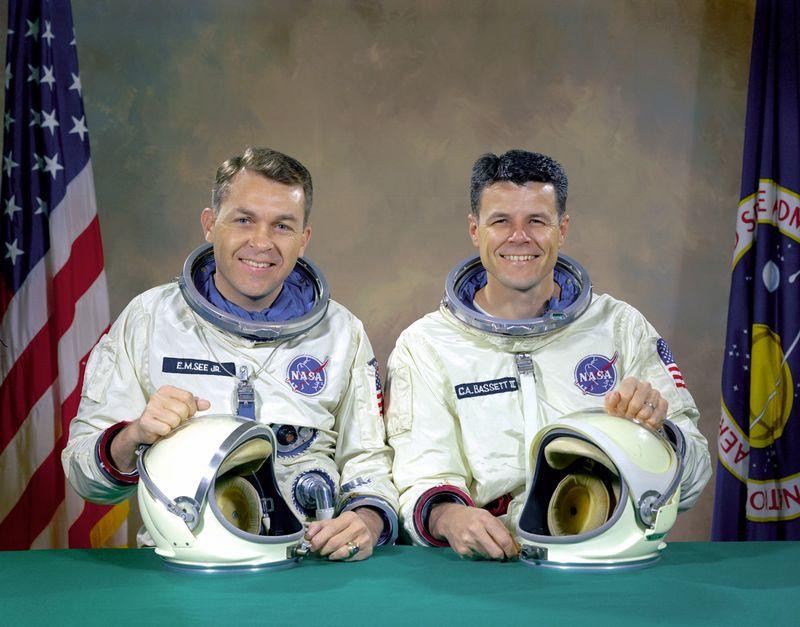 28 février 1966 décès de Charles Bassett et Elliot See Gemini10