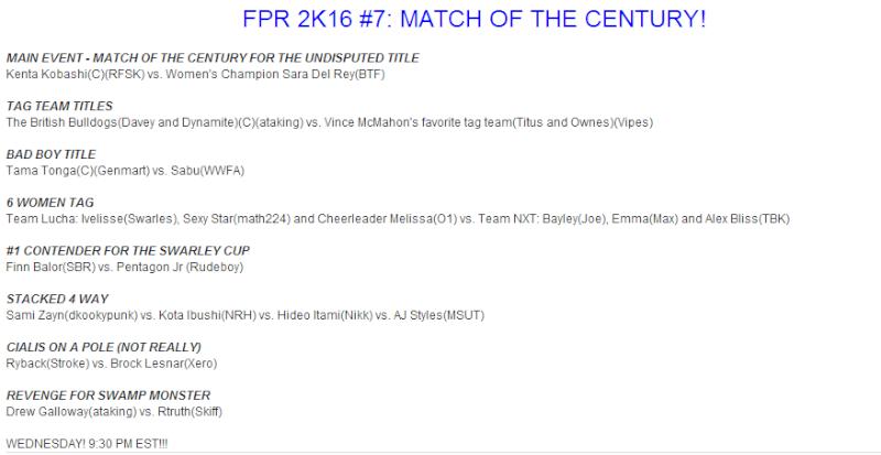 FPR 2K16 #7: MATCH OF THE CENTURY! Fpr2k110