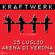 Kraftwerk all'Arena di Verona 25/07/2016 Kraftw10