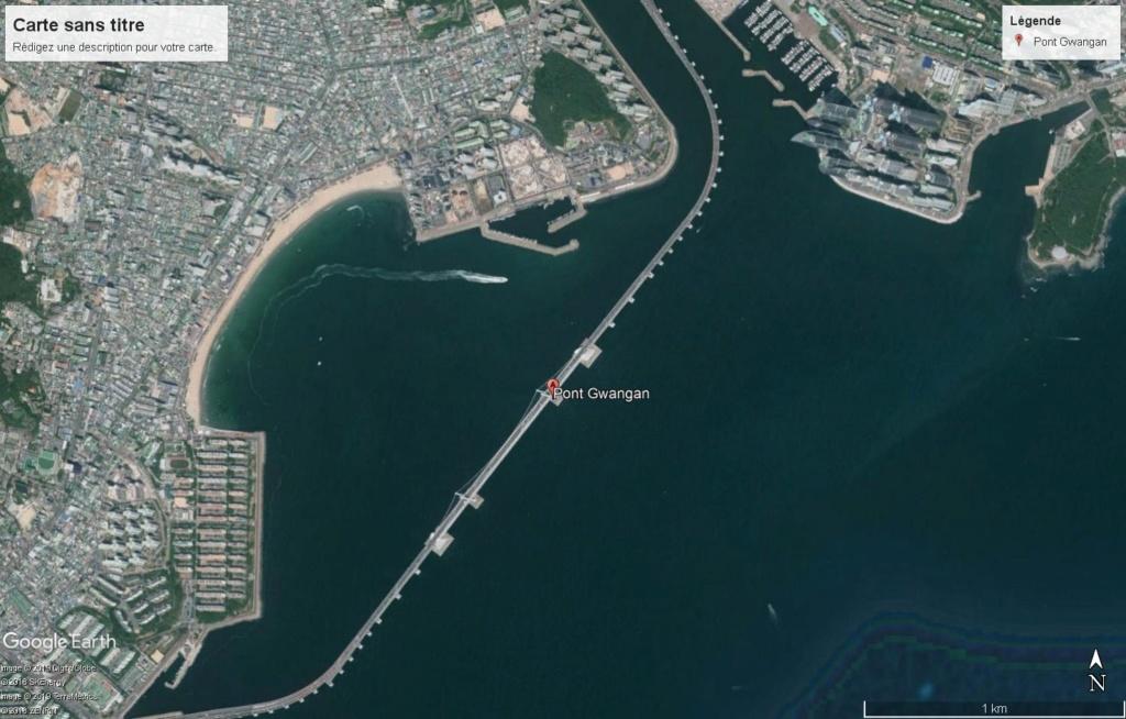 Cargo VS pont Gwangan Corée du sud Gwanga10