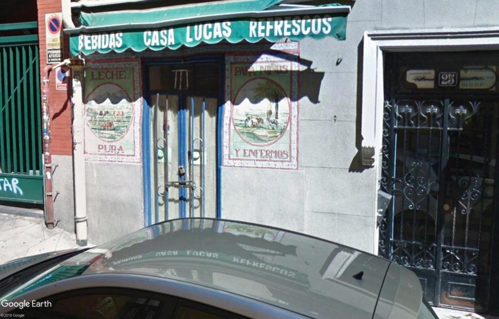Casa Lucas Madrid Espagne Leche10