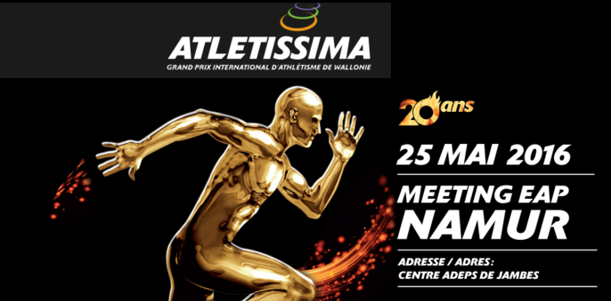Meeting Athletissima (5000m); Namur (B) : 25 mai 2016 Athlet10