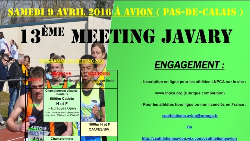 Meeting Javary; Avion (62); 10000, 5000, etc. : 09/04/2016 Avion_10