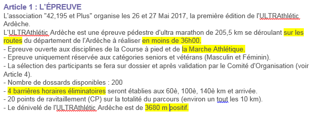 Ultrathlétic Ardèche, 205,5 km sur route: 25-26 mai 2017 Ultrar10