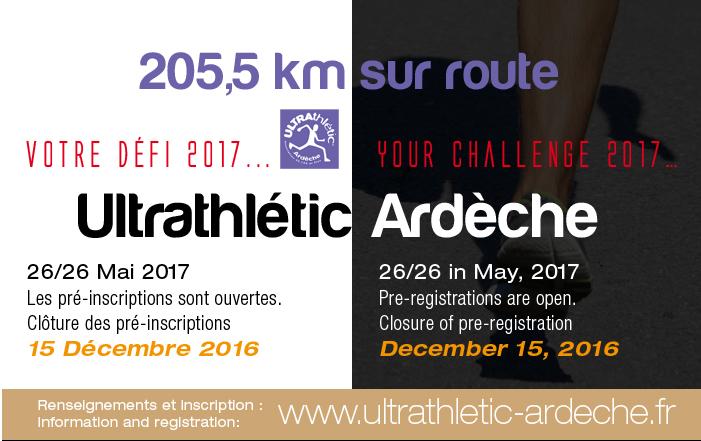Ultrathlétic Ardèche, 205,5 km sur route: 25-26 mai 2017 Ultrar11