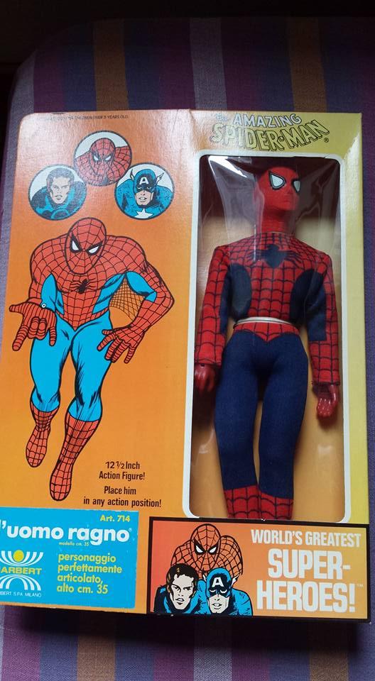 Mego Spiderman 12 inch adesivo Harbert 10400311