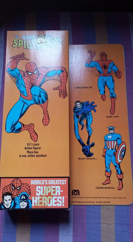 Mego Spiderman 12 inch adesivo Harbert 10407311