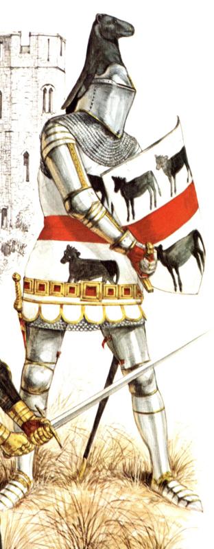 Personnages historiques de la guerre de succession de Bretagne. Calvel10