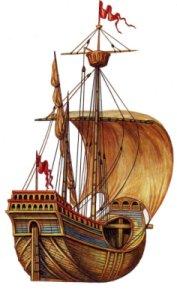 Iconographie pour des nefs médiévales. Navas10