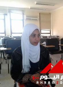 بالصور في الاهرام : فوز سارة السعداوى بلقب الطالبة المثالية بالوادي الجديد 10
