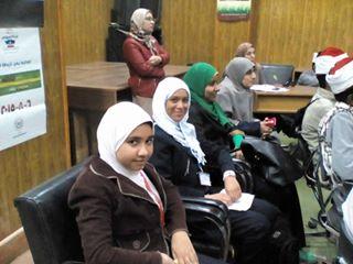 مشاركة طالبات المدرسة في ندوة بمركز الاعلام بعنوان ( مصر جميلة ) 142