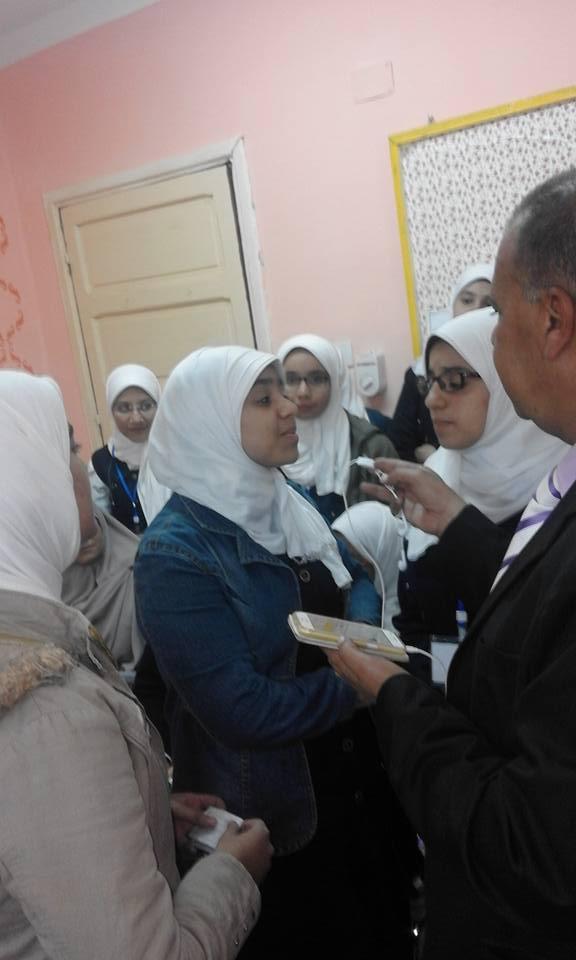 المذيع/ناصر الدمرداش يلقى الضوء على الانجازات التى تحققت فى مدرسة نجيب محفوظ  239