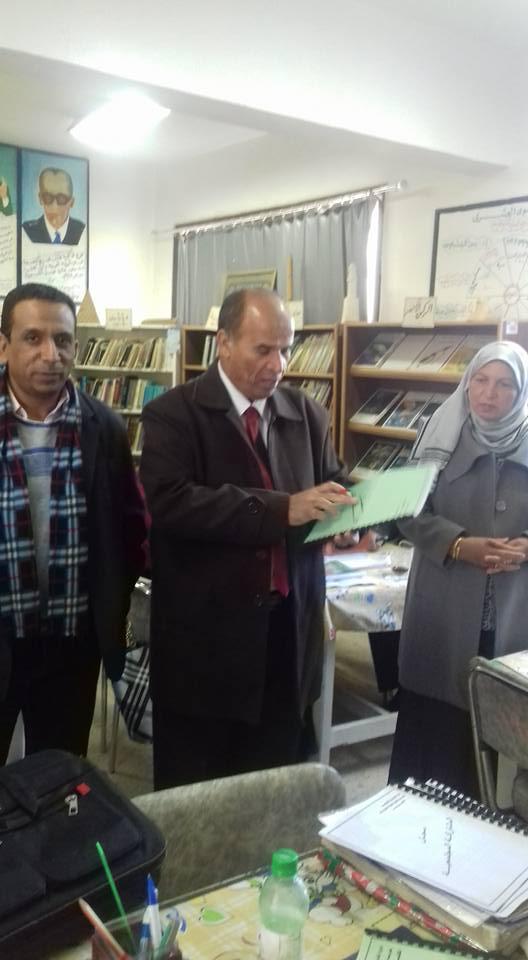 زيارة السيد مدير التعليم العام بالمديرية للمدرسه  319