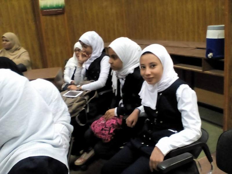 مشاركة طالبات المدرسة في ندوة بمركز الاعلام بعنوان ( مصر جميلة ) 333