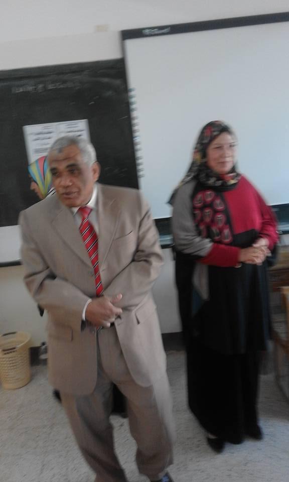 بالصور :ا/مجدى منصور مدير عام الاداره التعلميه بالخارجه بالمدرسة 339