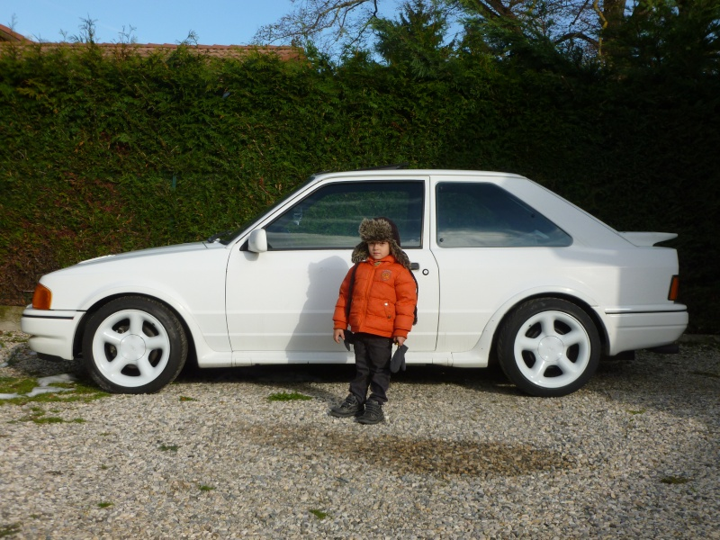 Ma nouvelle escort rs turbo s2 P1020511