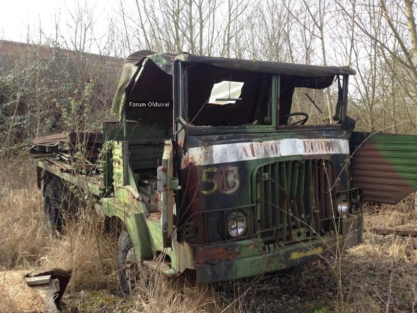 L'Urbex : Exploration Urbaine & review de terrain d'un petit EDC  Camion10