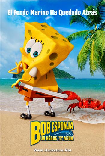 [DD][MEGA] Bob Esponja: Un Héroe Fuera del Agua (2015) DVDRip Latino Bob10