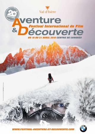 Jean-François Clervoy à Val d'Isère entre le 18 et le 21 Avril 2016. Festiv21