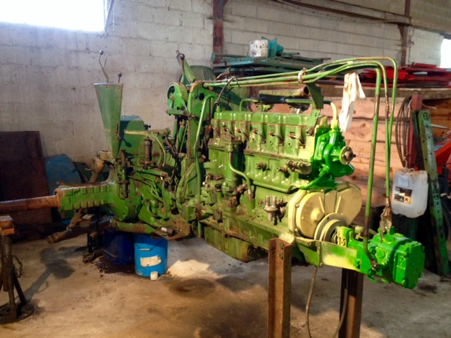 Restauration John Deere 4020 2510