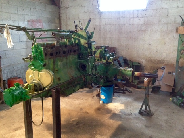 Restauration John Deere 4020 2610