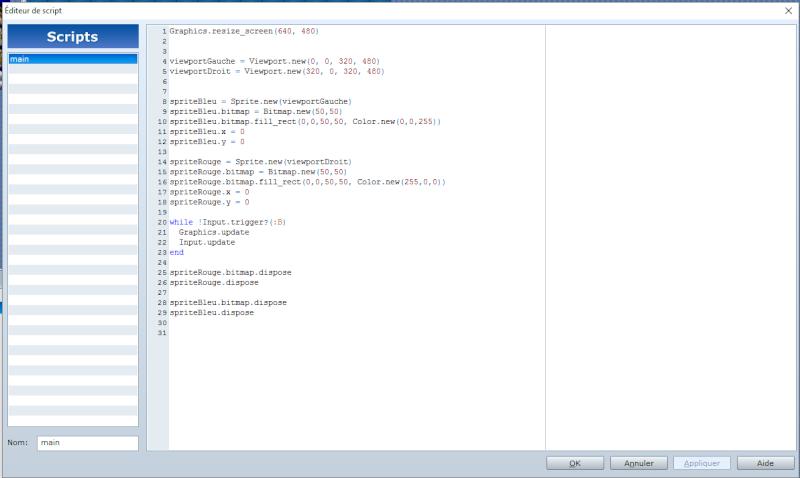 Bitmap et viewport.[résolu] Script10