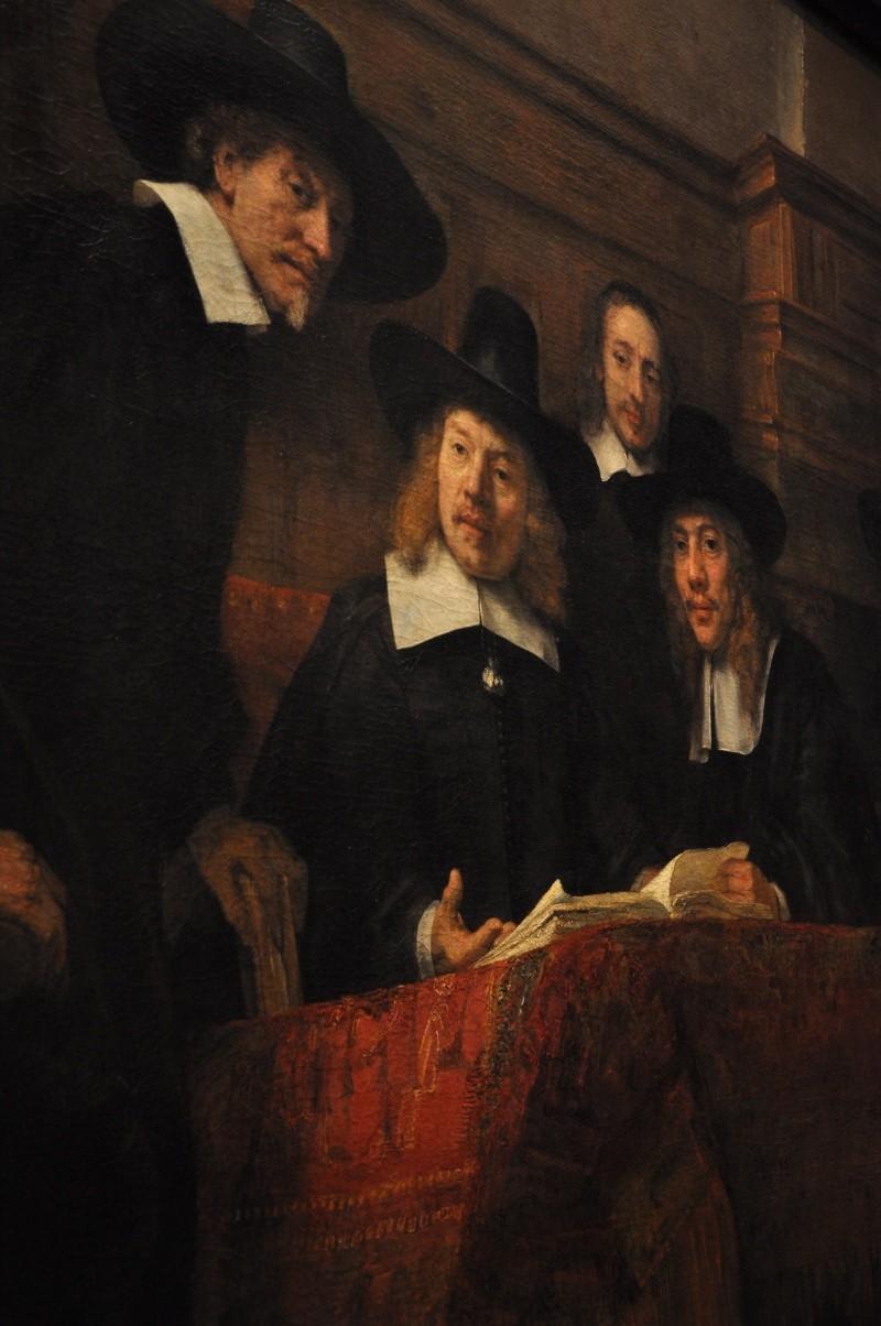 Hollandaise 2 : Rembrandt de près ou de loin, stabisme et angoisse de la cécité Rembra11