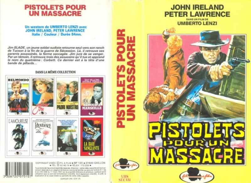 Pistolets pour un massacre - La malle de San Antonio - Una pistola per cento bare  - 1968 - Umberto Lenzi 5310