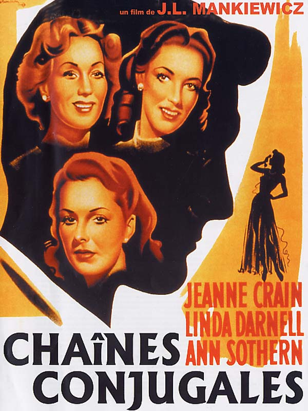 Chaînes conjugales. A Letter to Three Wives. 1949. Joseph L. Mankiewicz. Artoff10