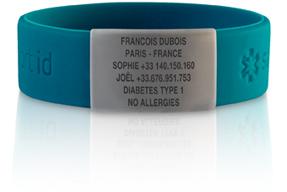 """Safe Sport ID: Le bracelet """"en cas d'urgence!"""" Menu_s10"""