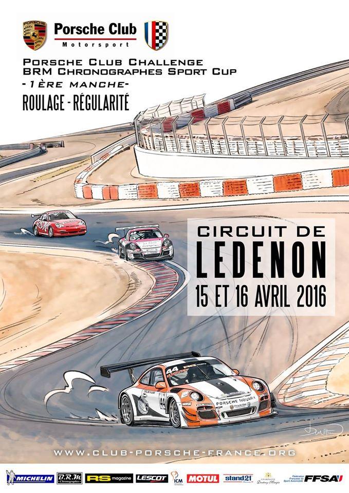 Nimes Ledenon le 15 et 16 avril avec  Porche Club Motorsport 12828912