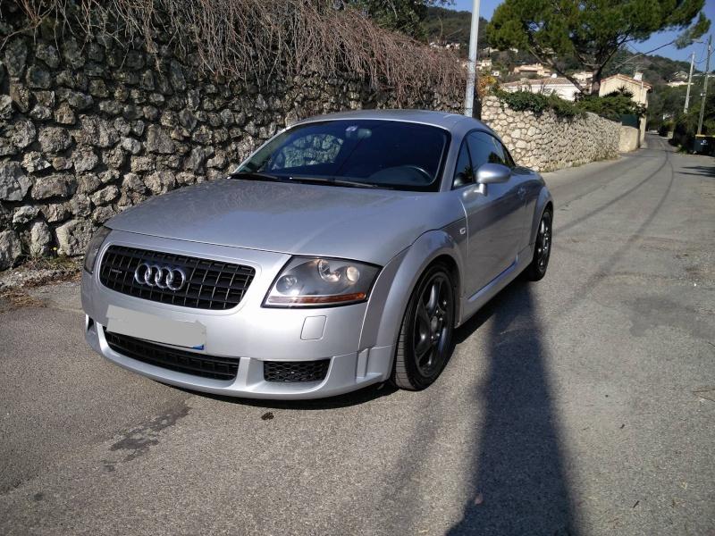 Audi TT 3.2 v6 DSG alias la gloutone  Tt310