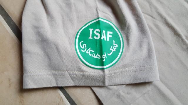 Tshirt sable ISAF et FRANCE 20160324