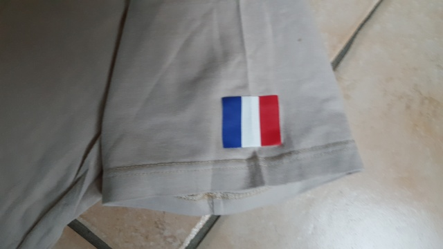 Tshirt sable ISAF et FRANCE 20160325