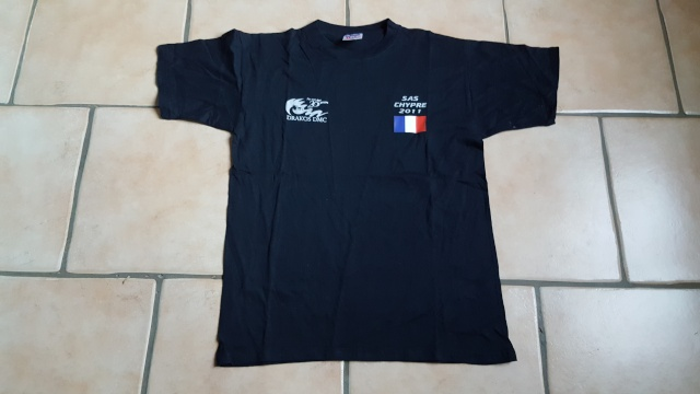 T-shirt SAS Chypre 2011 20160326