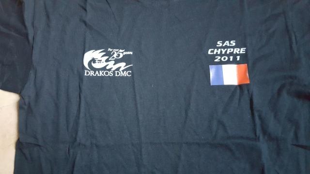 T-shirt SAS Chypre 2011 20160328