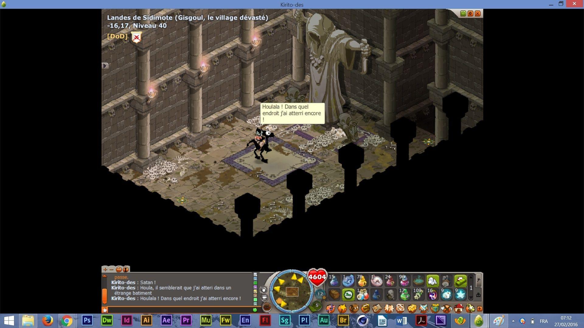 Screens en vrac de Sedidi Satani12