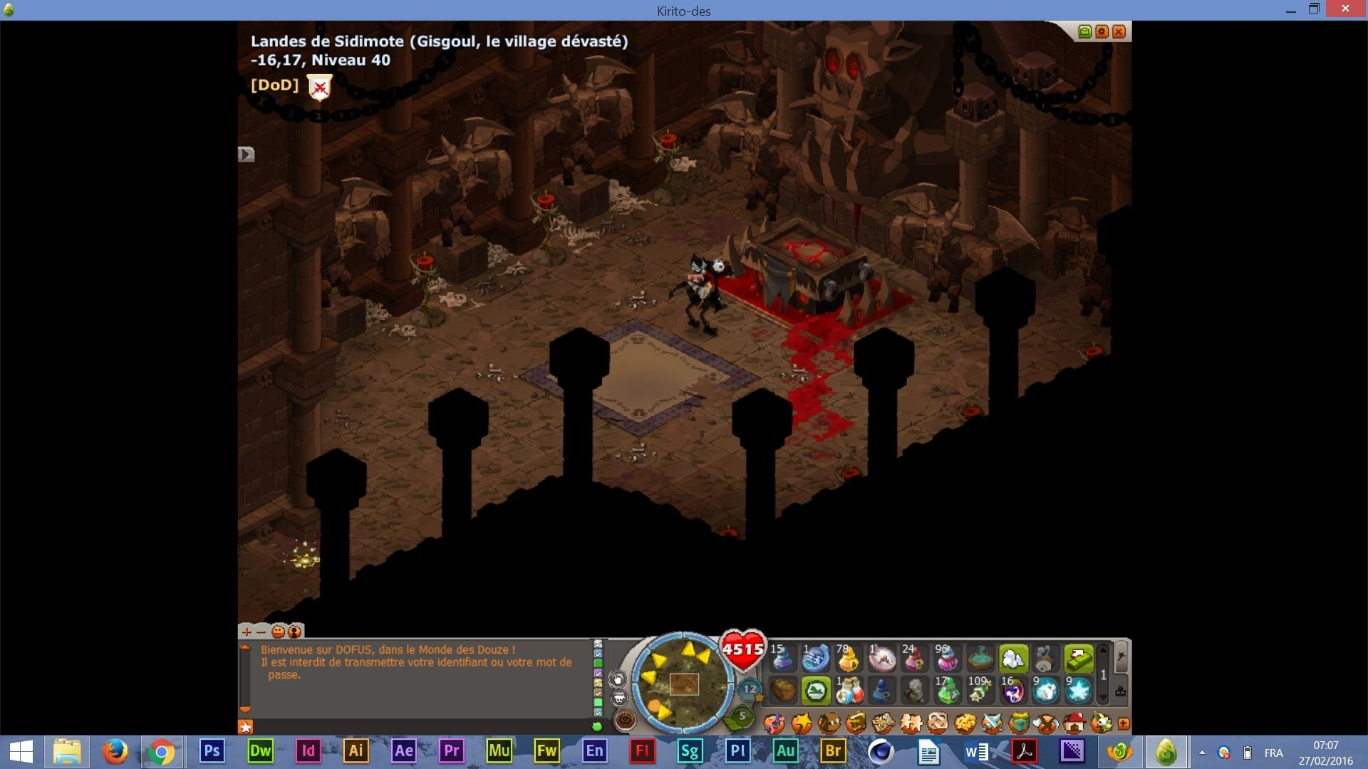 Screens en vrac de Sedidi Satani15