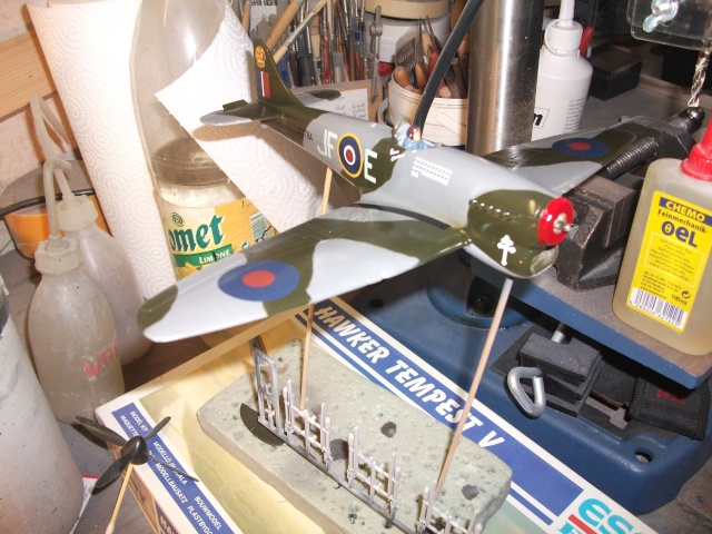 Hawker Tempest & Typhoon in 1:48. 1112