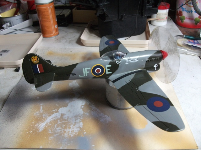 Hawker Tempest & Typhoon in 1:48. 1212