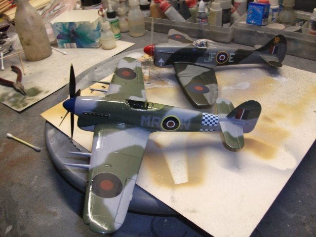 Hawker Tempest & Typhoon in 1:48. 1310