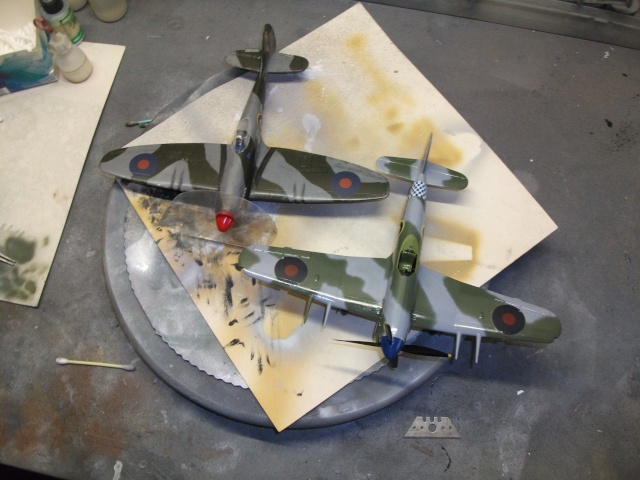 Hawker Tempest & Typhoon in 1:48. 1611