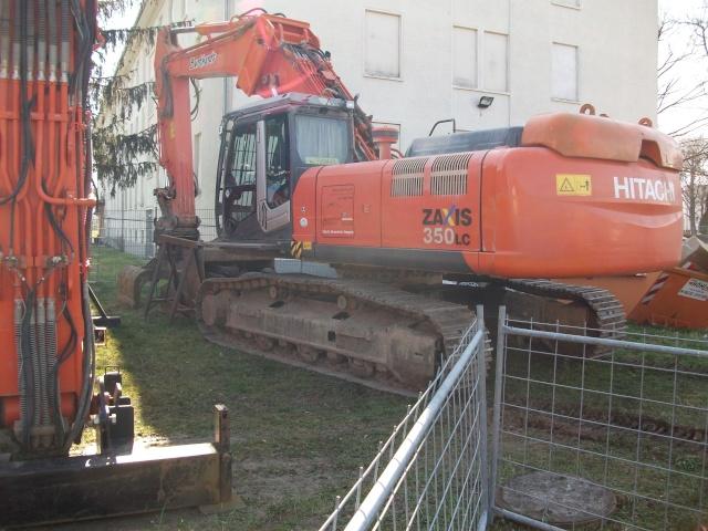 Abrissbagger im Technikmuseum Speyer. 4110