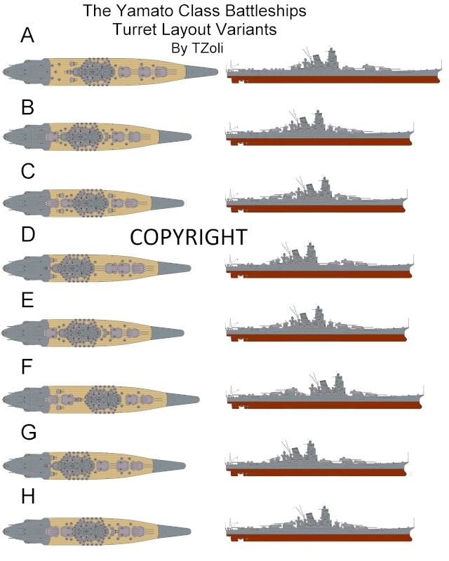 Eigenerdachtes Schiff in Anlehnung der Yamato-Klasse, 1/200 The_co11