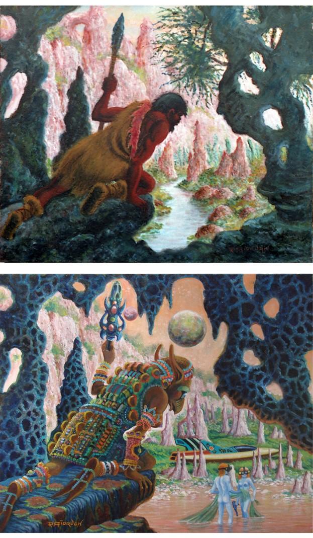 Raoul Giordan: l'homme et l'artiste (1926 - 2017) - Page 4 Le_cha11