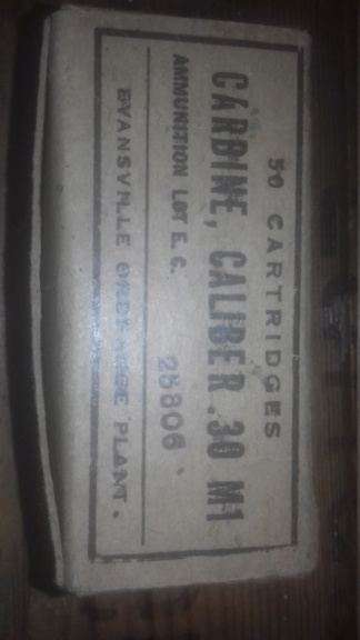 Boite 800 cartouches 30M1 20190414