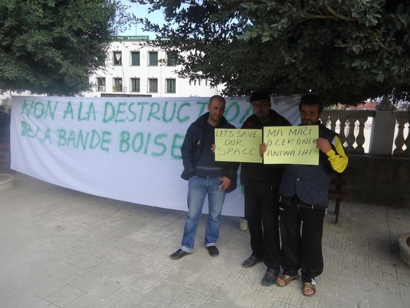 Marche à Aokas contre la destruction de la bande boisée  - Page 2 Dsc06635