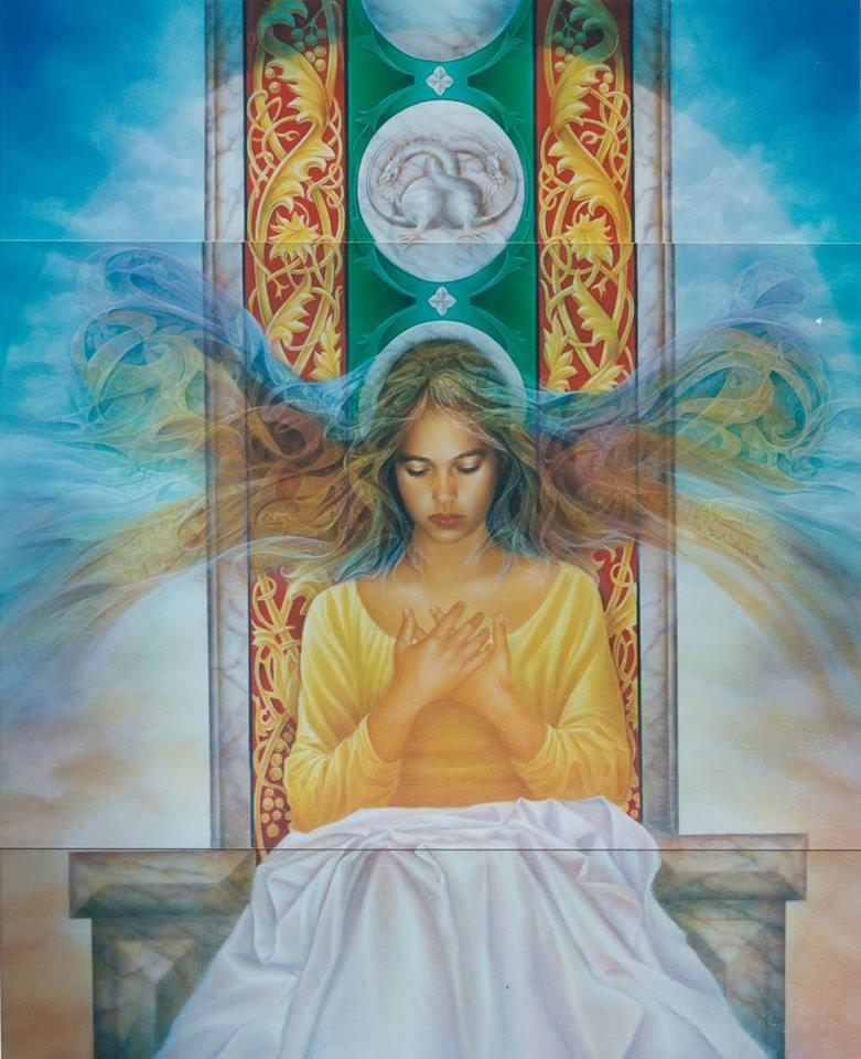 La prière pour l'amour de soi Femme-10